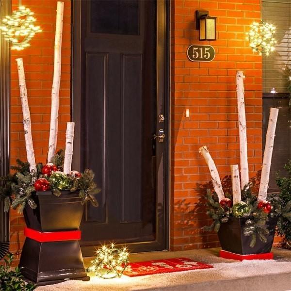 outdoor-Christmas-decoration-64 91+ Adorable Outdoor Christmas Decoration Ideas in 2020