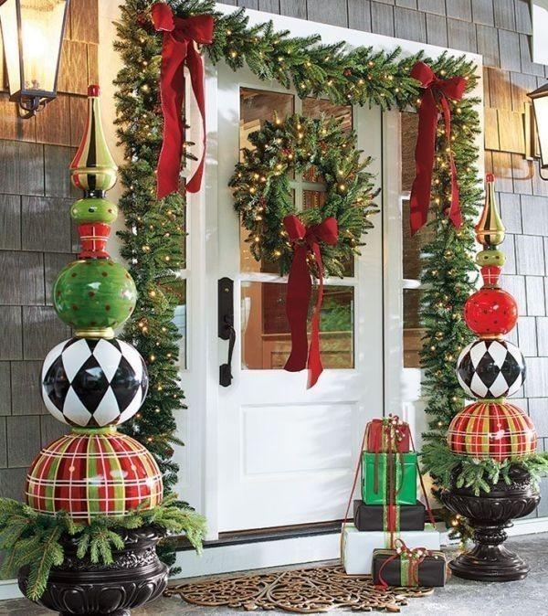 outdoor-Christmas-decoration-75 91+ Adorable Outdoor Christmas Decoration Ideas in 2020