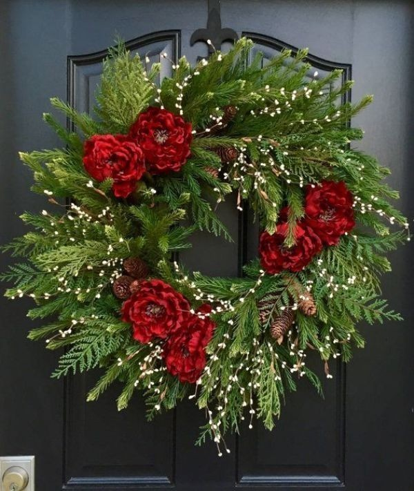 outdoor-Christmas-decoration-78 91+ Adorable Outdoor Christmas Decoration Ideas in 2020