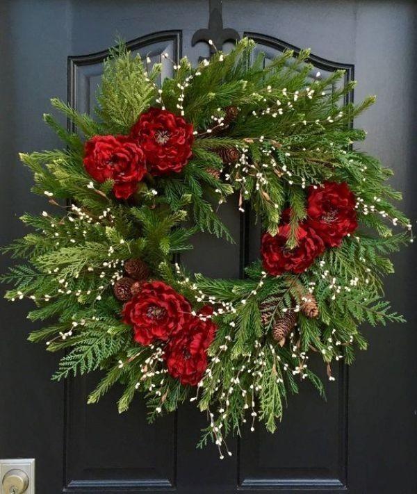 outdoor-Christmas-decoration-78 91+ Adorable Outdoor Christmas Decoration Ideas in 2021/2022