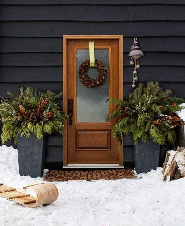 outdoor-Christmas-decoration-80 91+ Adorable Outdoor Christmas Decoration Ideas in 2020