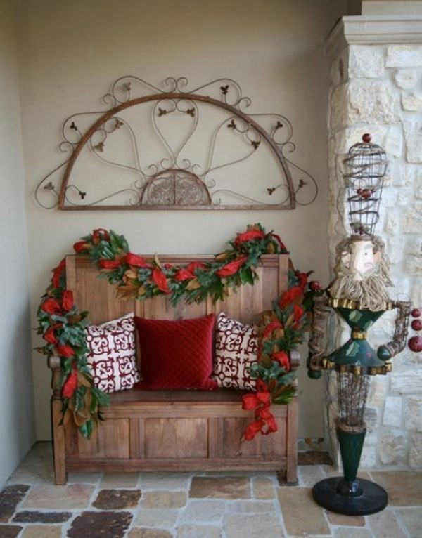 outdoor-Christmas-decoration-86 91+ Adorable Outdoor Christmas Decoration Ideas 2018