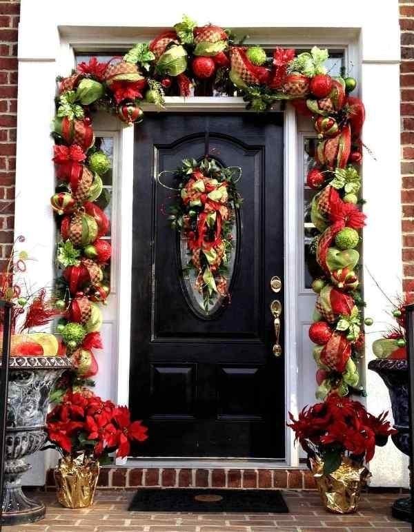 outdoor-Christmas-decoration-87 91+ Adorable Outdoor Christmas Decoration Ideas in 2020