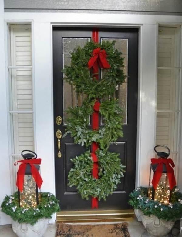 outdoor-Christmas-decoration-90 91+ Adorable Outdoor Christmas Decoration Ideas in 2020