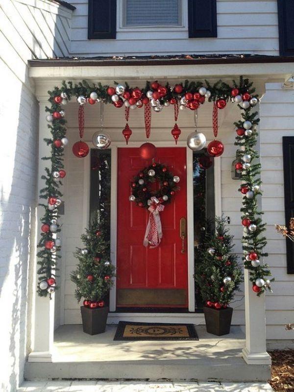outdoor-Christmas-decoration-93 91+ Adorable Outdoor Christmas Decoration Ideas in 2020
