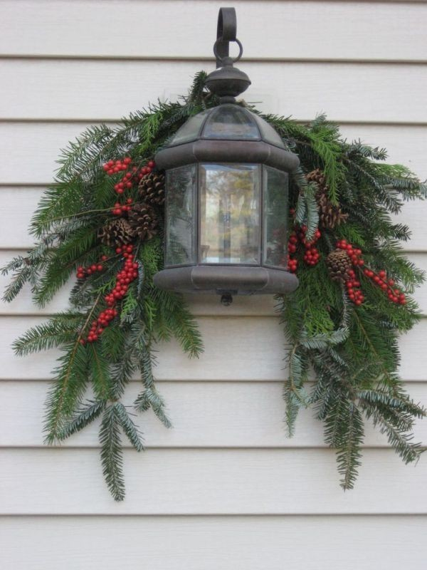 outdoor-Christmas-decoration-94 91+ Adorable Outdoor Christmas Decoration Ideas 2018
