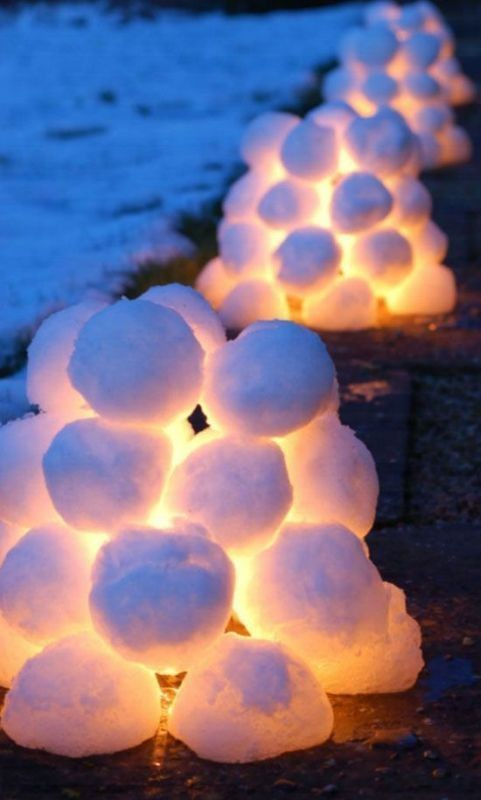 outdoor-Christmas-light-decoration-ideas-1 98+ Magical Christmas Light Decoration Ideas for Your Yard 2018