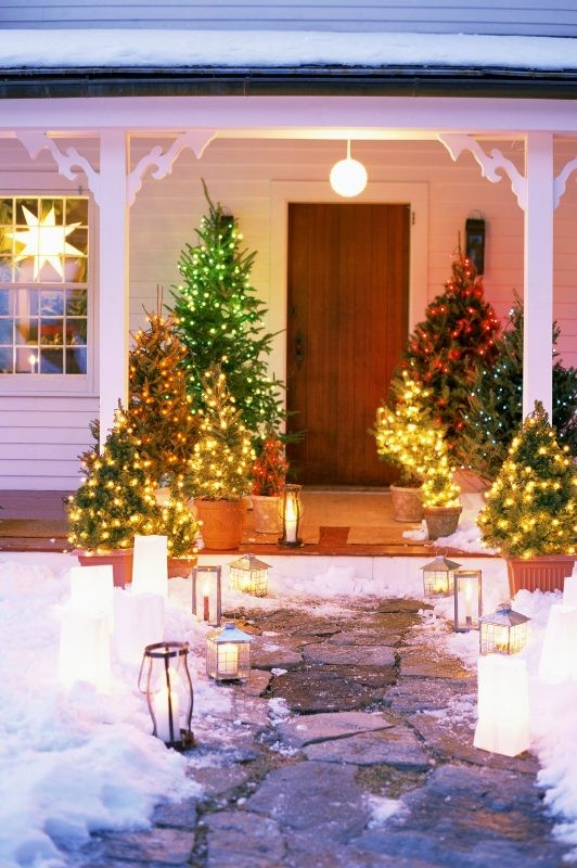 outdoor-Christmas-light-decoration-ideas-10 98+ Magical Christmas Light Decoration Ideas for Your Yard 2018