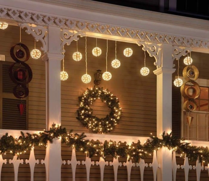outdoor-Christmas-light-decoration-ideas-122 98+ Magical Christmas Light Decoration Ideas for Your Yard 2018