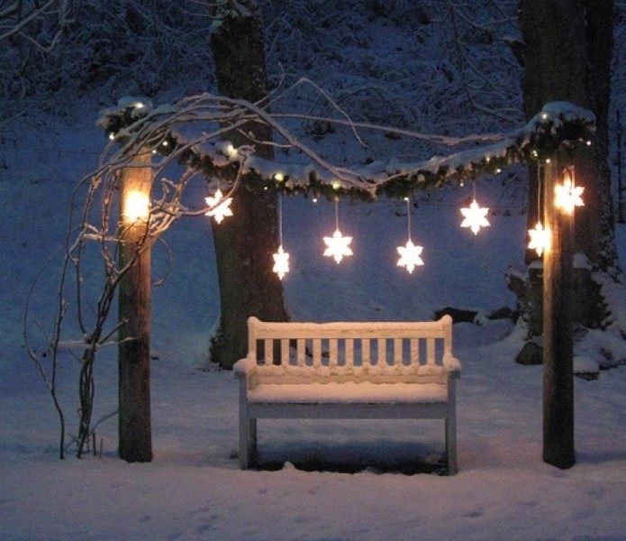 outdoor-Christmas-light-decoration-ideas-123 98+ Magical Christmas Light Decoration Ideas for Your Yard 2018