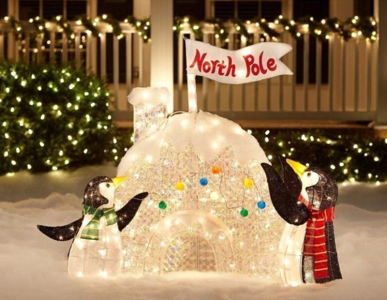 outdoor-Christmas-light-decoration-ideas-125 98+ Magical Christmas Light Decoration Ideas for Your Yard 2018