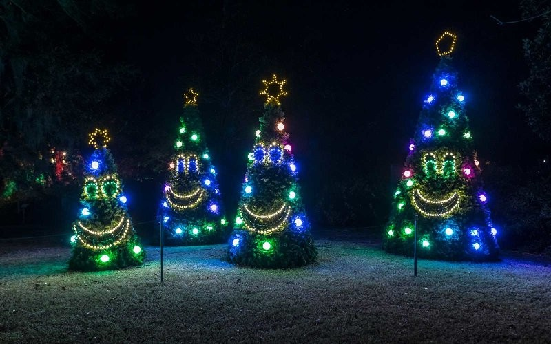 outdoor-Christmas-light-decoration-ideas-137 98+ Magical Christmas Light Decoration Ideas for Your Yard 2018