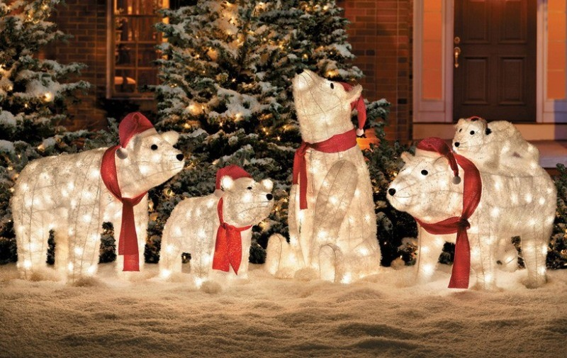 outdoor-Christmas-light-decoration-ideas-138 98+ Magical Christmas Light Decoration Ideas for Your Yard 2018