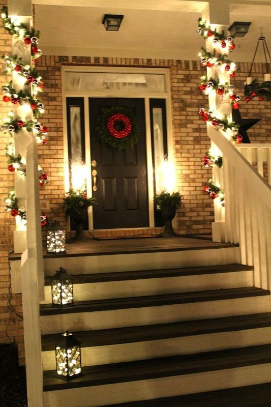 outdoor-Christmas-light-decoration-ideas-16 98+ Magical Christmas Light Decoration Ideas for Your Yard 2018