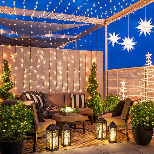 outdoor-Christmas-light-decoration-ideas-43 98+ Magical Christmas Light Decoration Ideas for Your Yard 2018