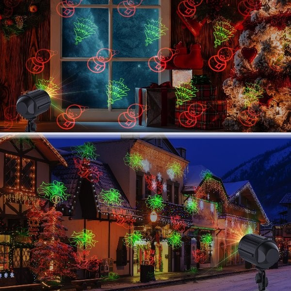 outdoor-Christmas-light-decoration-ideas-52 98+ Magical Christmas Light Decoration Ideas for Your Yard 2018