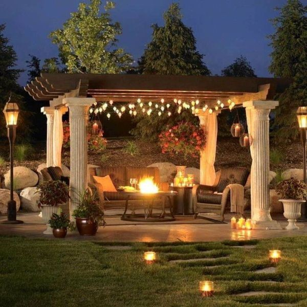 outdoor-Christmas-light-decoration-ideas-58 98+ Magical Christmas Light Decoration Ideas for Your Yard 2018