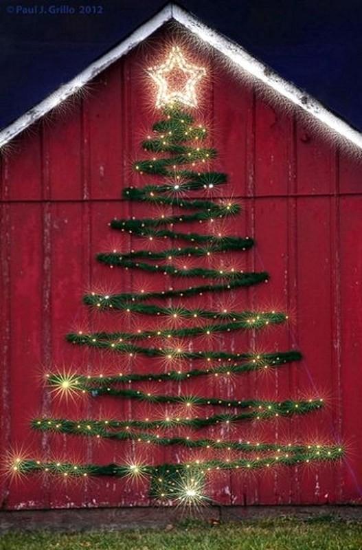 outdoor-Christmas-light-decoration-ideas-7 98+ Magical Christmas Light Decoration Ideas for Your Yard