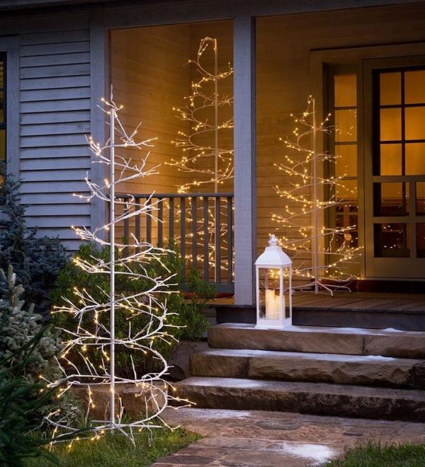 outdoor-Christmas-light-decoration-ideas-74 98+ Magical Christmas Light Decoration Ideas for Your Yard 2018