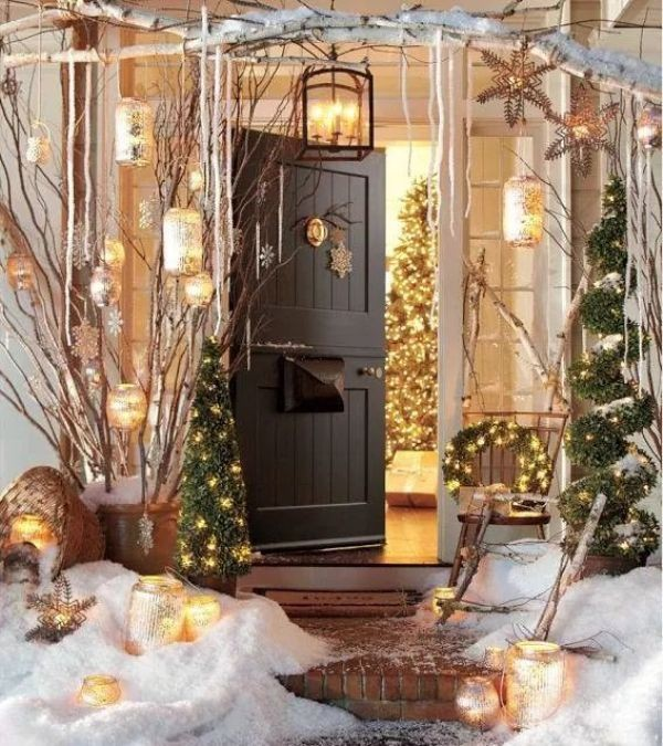 outdoor-Christmas-light-decoration-ideas-76 98+ Magical Christmas Light Decoration Ideas for Your Yard 2018
