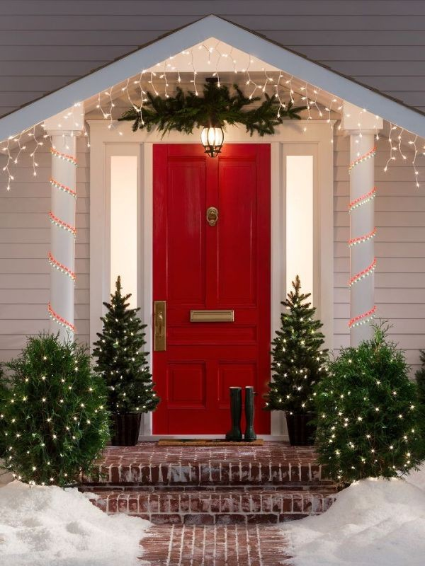 outdoor-Christmas-light-decoration-ideas-93 98+ Magical Christmas Light Decoration Ideas for Your Yard 2018