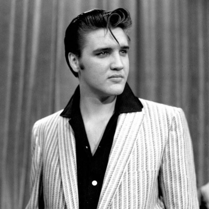 pompadour-elvis-presley-675x675 Old 1950's Hairstyles for Men [Will Return in 2019]