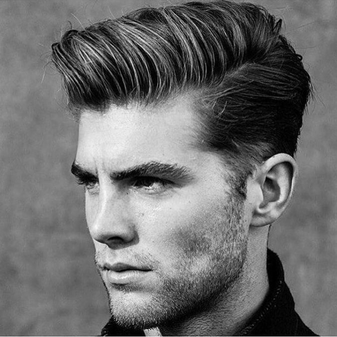 pompadour-hairstyle-men-675x675 Old 1950's Hairstyles for Men [Will Return in 2018]