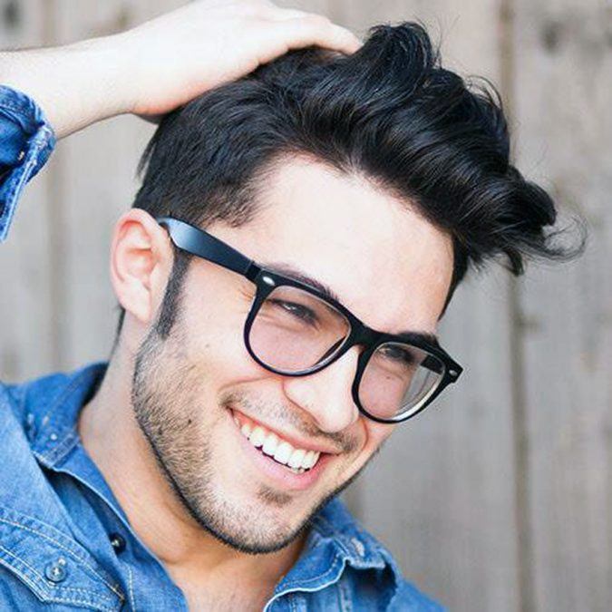 pompadour-short-sides-long-top-haircut-men-675x675 Old 1950's Hairstyles for Men That Will Return in 2021