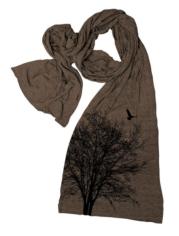scarf-Earthy-shade +25 Catchiest Scarf Trends for Women in 2020