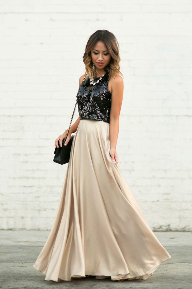 skirt3-675x1013 11 Tips on Mixing Antique and Modern Décor Styles