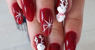 Top 7 Awesome Christmas Nail Art Design Ideas 2018