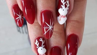 Photo of Top 7 Christmas Winter Nail Design Ideas 2019