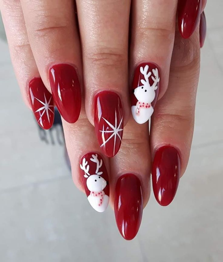 Gel Nails For Christmas 2019: Top 7 Christmas Winter Nail Design Ideas 2019