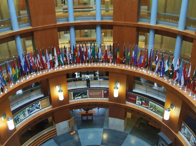 world-bank-hq-in-washington-dc-all-the-flags-of-the-world-675x506 Top 5 Debt-Free Countries in The World!