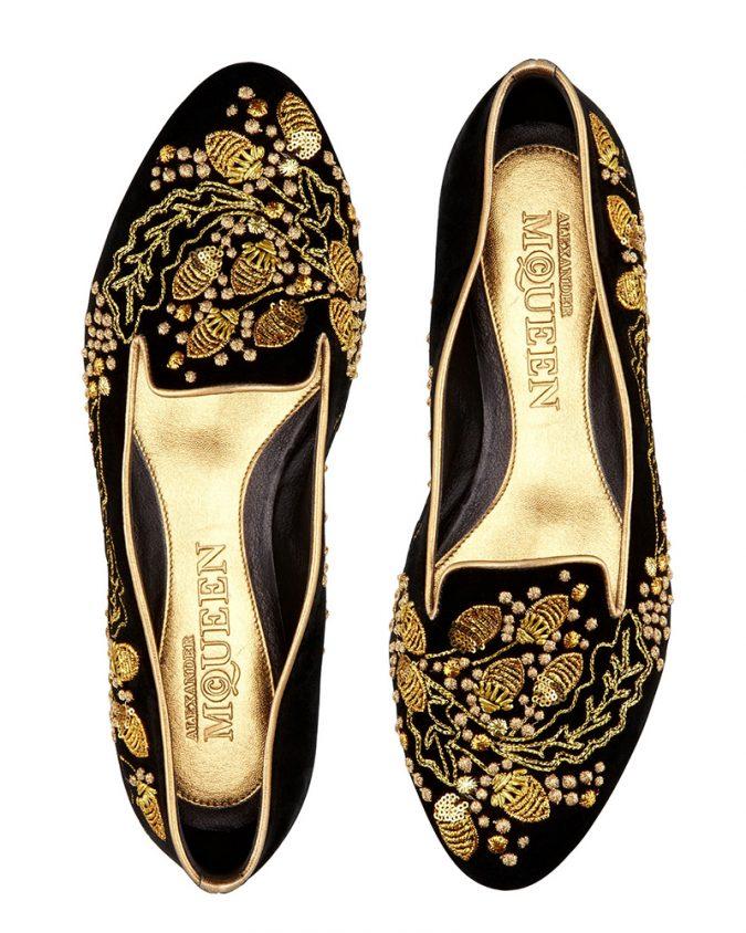 Alexander-McQueen-women-flat-shoes-675x844 +8 Catchiest Women's Shoe Trends to Expect in 2020