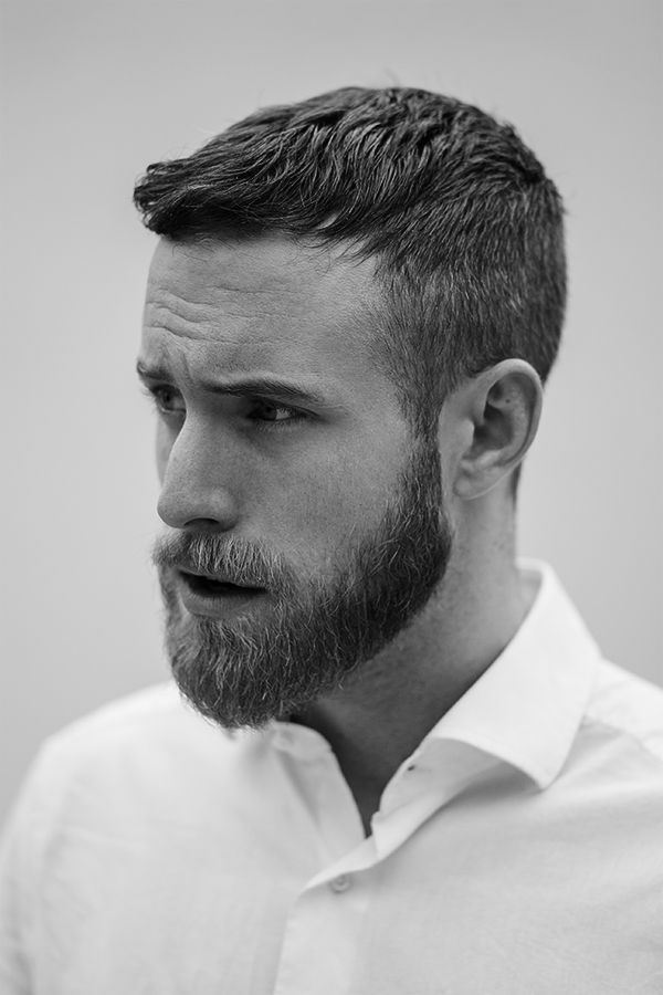Beard-and-short-hair Top 6 Beard Style Trends for Men in 2019