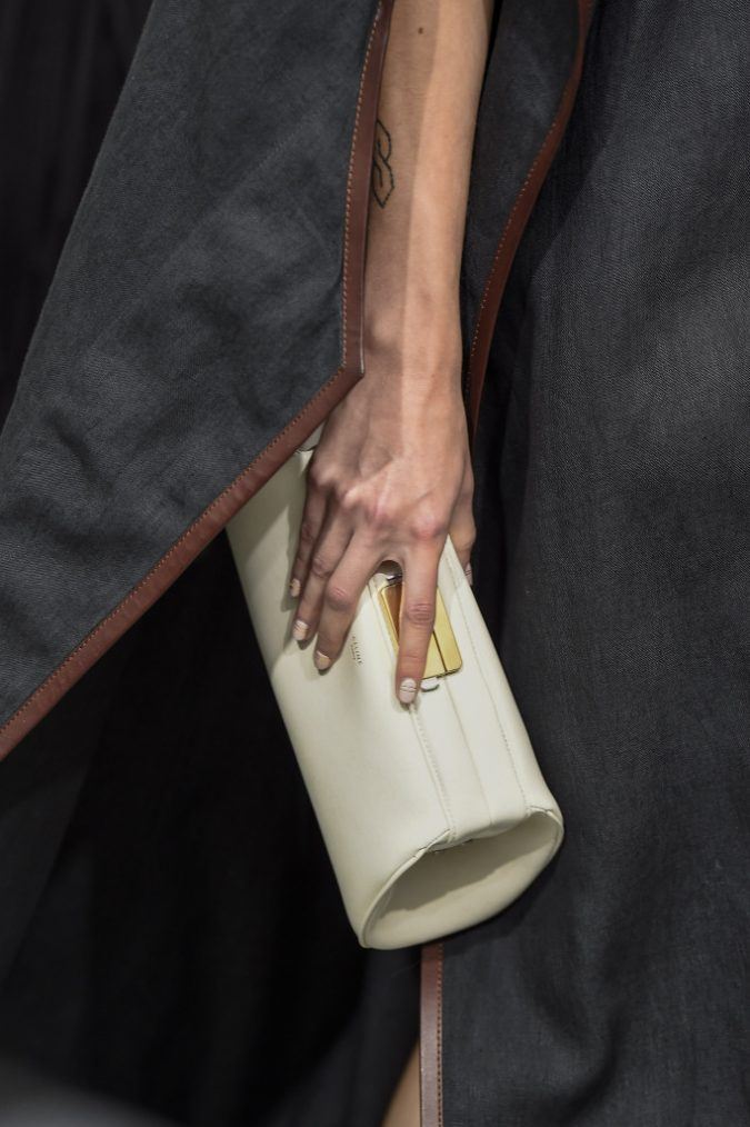 Celine-White-Boxy-Clutch-Bag-Spring-2018-675x1014 20+ Newest Handbag Trends in 2018