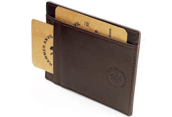 Hammer-Anvil-Money-Clip-minimalist-wallet-675x457 Best 7 Leather Wallet Patterns Trending in 2018