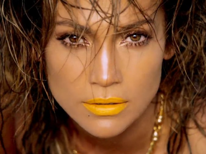 Jennifer-Lopez-yellow-lipstick-675x506 Top 10 Inspired Celebrity Makeup Ideas for 2020