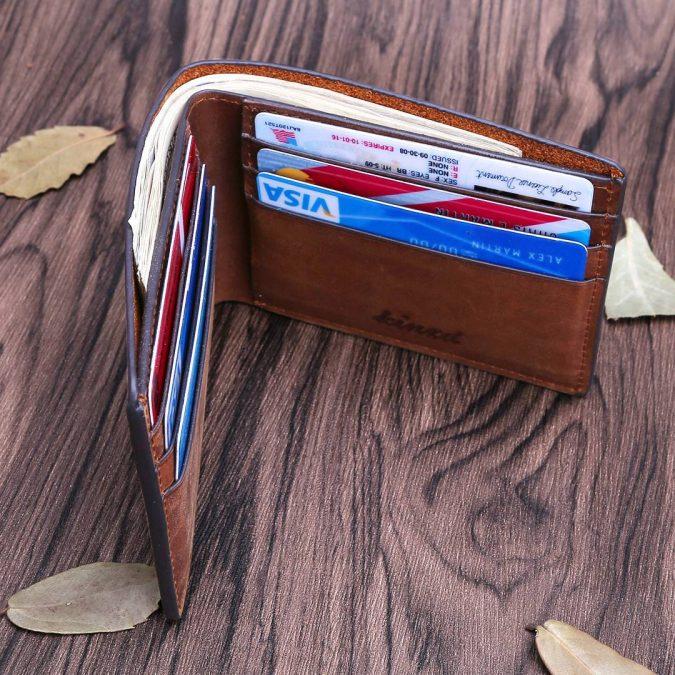 Kinzt-bifold-wallet-for-men-675x675 Best 7 Leather Wallet Patterns Trending in 2020