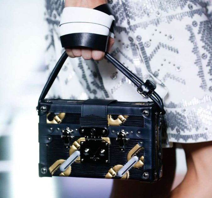 Louis-Vuitton-box-bag-675x633 20+ Newest Handbag Trends in 2018