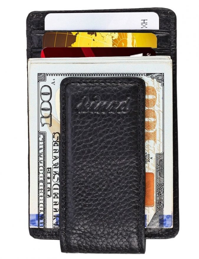 Magnetic-money-clip-wallet-2-675x878 Best 7 Leather Wallet Patterns Trending in 2020