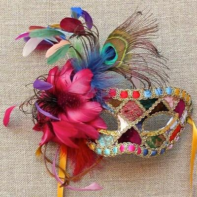 Masquerade-mask Top 10 Stylish Women's Masquerade Masks for Christmas