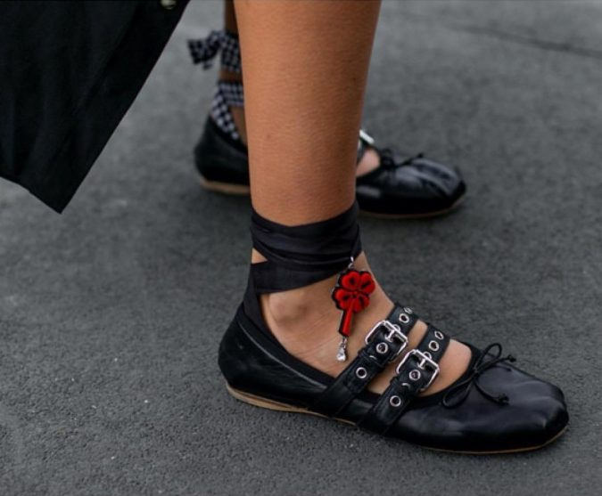 Miu-Miu-flat-shoes-women-shoe-trends-2018-2-1-675x557 +8 Catchiest Women's Shoe Trends to Expect in 2018