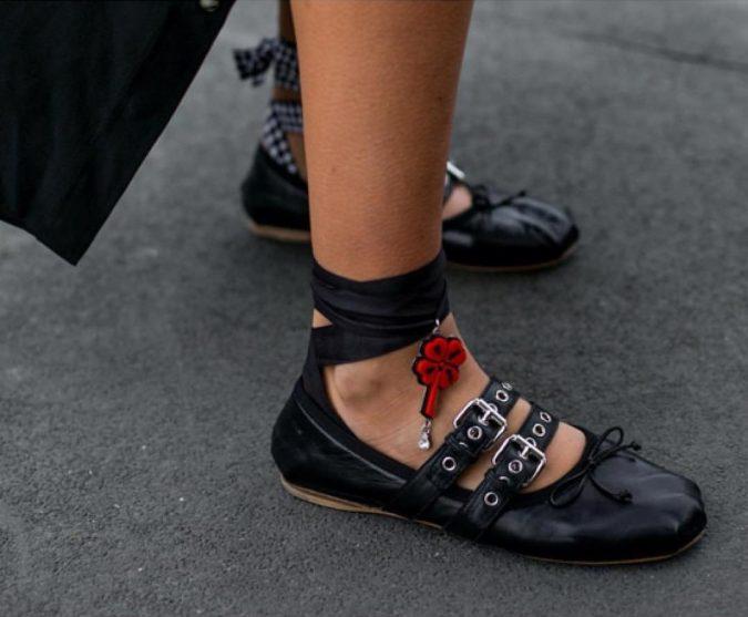 Miu-Miu-flat-shoes-women-shoe-trends-2018-2-1-675x557 +8 Catchiest Women's Shoe Trends to Expect in 2020