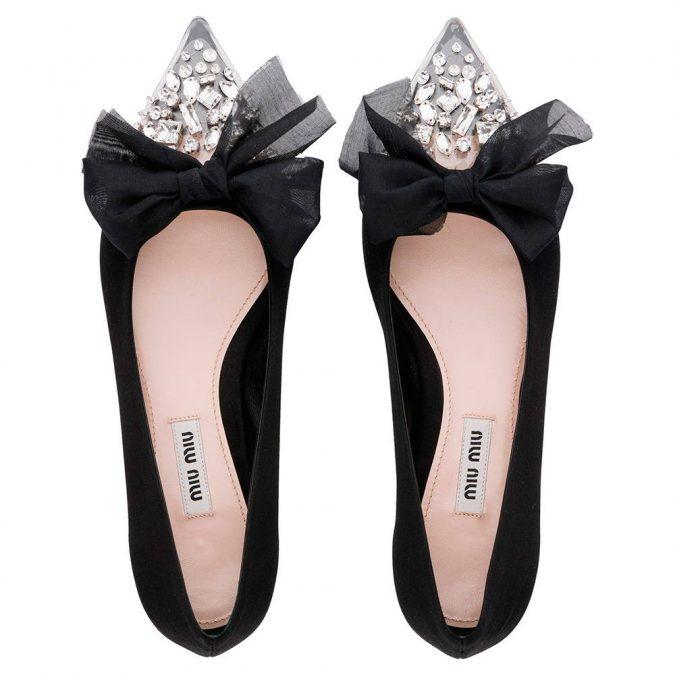 Miu-Miu-flat-shoes-women-shoe-trends-2018-675x675 +8 Catchiest Women's Shoe Trends to Expect in 2020