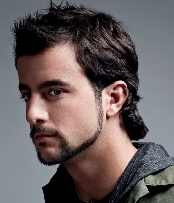 Modern-mullet-men's-haircut 5 Mind-blowing 80's Men's Hairstyles