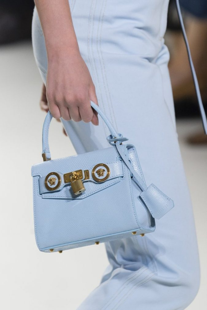 Pastel-handbag-Versace-675x1013 20+ Newest Handbag Trends in 2018