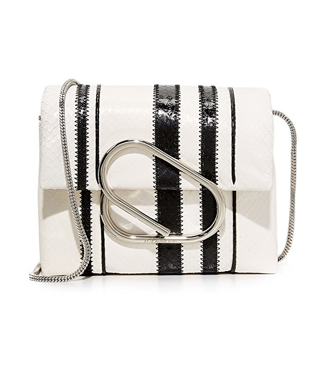 Phillip-Lie-striped-monochrome-handbag-alix-micro-crossbody 20+ Newest Handbag Trends in 2018
