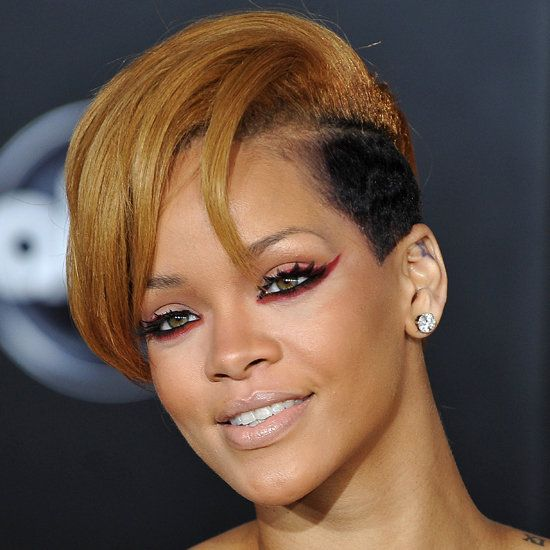 Rihanna-red-cat-eyes Top 10 Inspired Celebrity Makeup Ideas for 2019